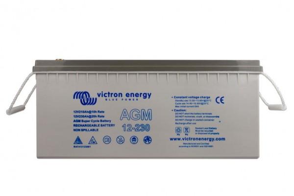 Victron 12V/230Ah AGM Super Cycle Batterie 12 Volt 230 Ah