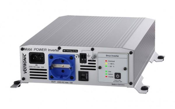 Votronic MobilPOWER Inverter SMI 1700 Sinus ST-NVS rein Sinus Spannungswandler