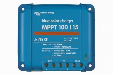 Victron BlueSolar MPPT 100/15 Solarladeregler