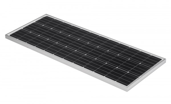 solarmodul 100w solarpanel 12v f r wohnmobil 4 busbars. Black Bedroom Furniture Sets. Home Design Ideas