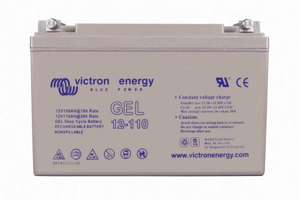 victron energy 12 volt 110ah gel vrla deep cycle batterien. Black Bedroom Furniture Sets. Home Design Ideas