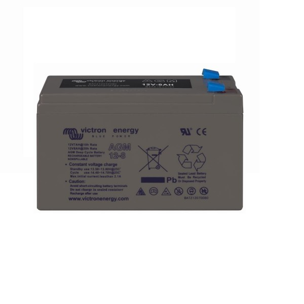 12 Volt 8 Ah AGM Deep Cycle Batterie