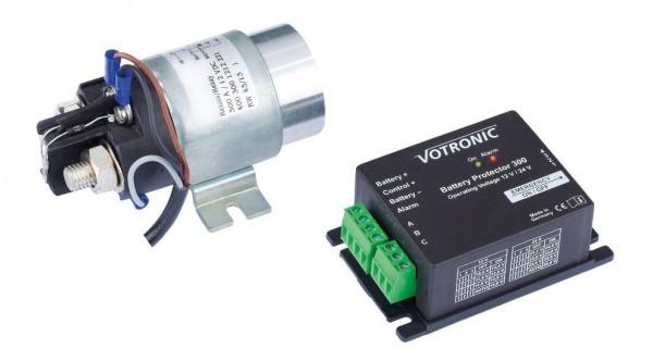 Votronic Battery Protector 300 Unterspannungsschutz und Schaltbaustein für Bord- und Starter-Batterie
