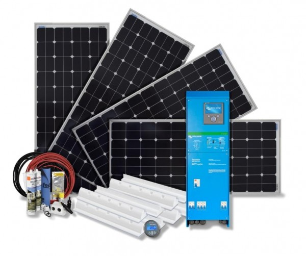 Solarset 600 Watt 24 Volt Solaranlage mit EasySolar