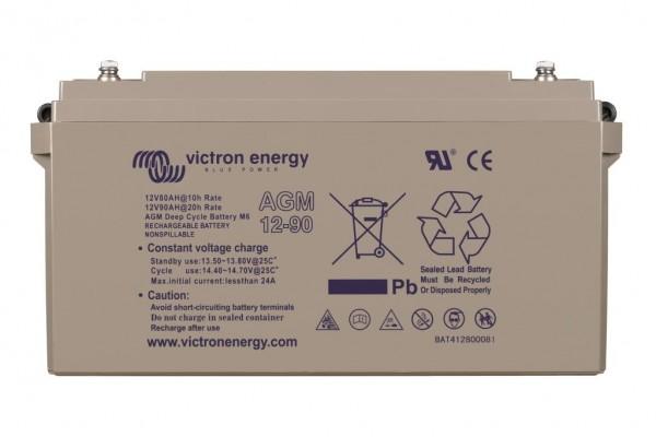 Victron AGM 12/90Ah M6 Deep Cycle Batterien 12 Volt