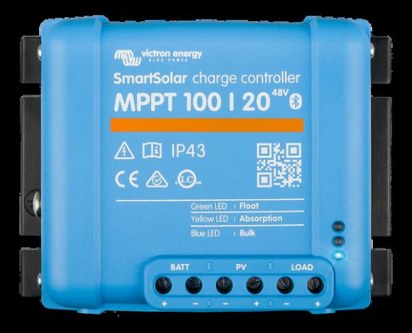 SmartSolar MPPT 100/20 12V/ 24V / 48V 20A Solarladeregler