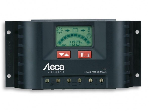 STECA Solarladeregler PR1515 Solar Regler LCD Anzeige Wohnmobil Solaranlage