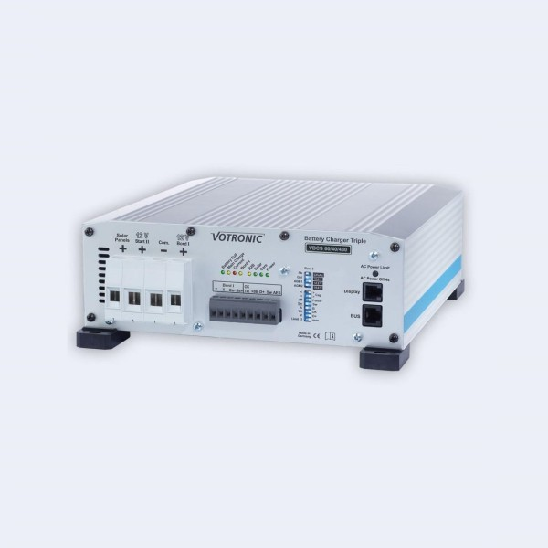 Votronic VBCS 30/20/250 Triple Solarladeregler Batterieladegerät Ladewandler Kombi