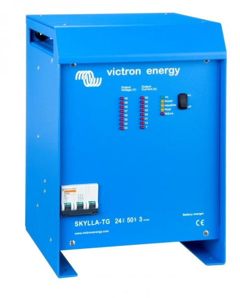 Skylla-TG 24/50 (1+1) 3-Phase 400V Batterielader Victron Energy