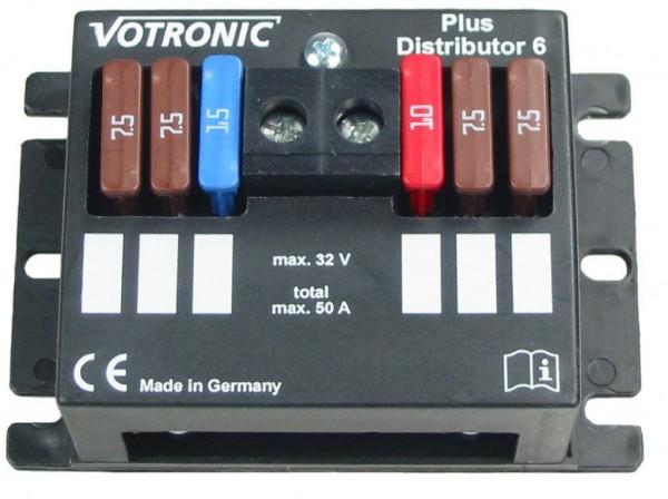 Votronic Plus-Distributor 6 Plus-Verteiler für 6 abgesicherte Stromkreise