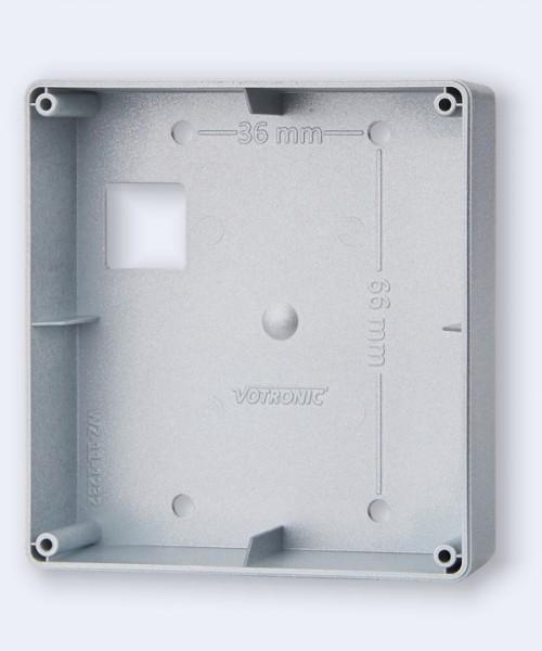 Aufbaugehäuse silber für LCD-Geräteserie S