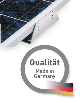 SOLARA ALU-Haltewinkel - HSP400 bis 1250mm Set enthält 6 Winkel