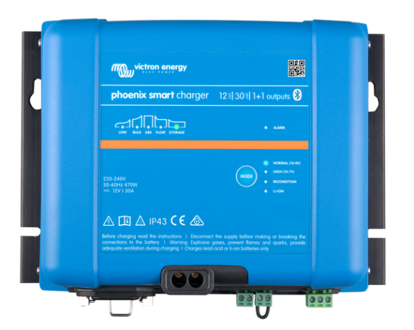 Victron Phoenix Smart IP43 Batterieladegerät 12V 30A oder 50A mit 2 oder 3 Ausgänge Bluetooth inkl.