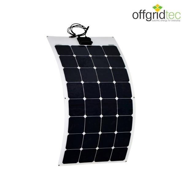 Semiflexibles Solarmodul mit 100 W für 12V Offgridtec