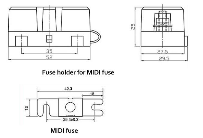 Midi-Fuse-Holder