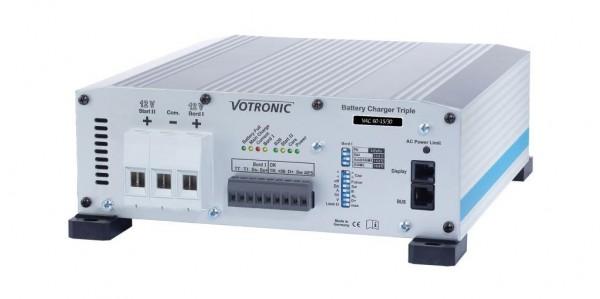 Votronic VAC 60-15/30 Triple Batterieladegerät Ladewandler Kombi