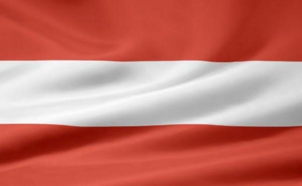 sterreich-Flagge