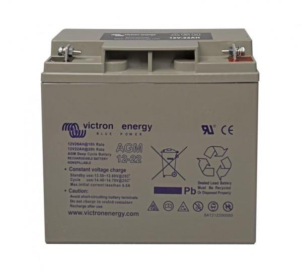 Victron AGM 12/22Ah Deep Cycle Batterien 12 Volt