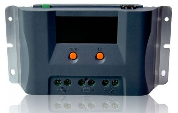 Solarladeregler MPPT 12 V bis 10A 100 bis 140 Watt Solarmodul Laderegler