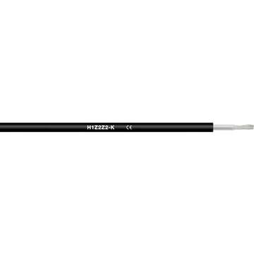 Kabel Solar 1x6mm² H1Z2Z2-K, zertifiziert gemäß EN 50618