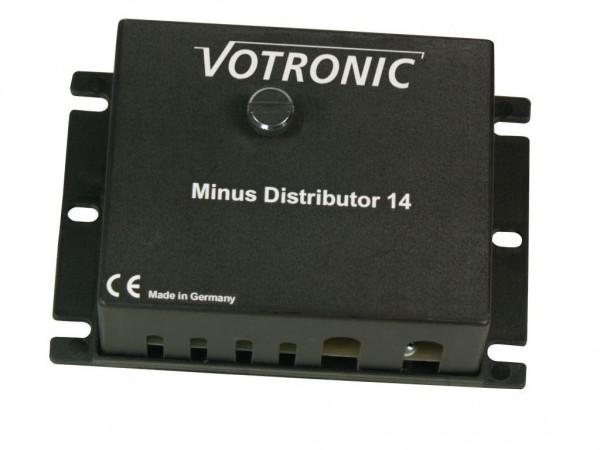 Votronic Minus-Distributor 14 Leistungsfähiger Minus-Verteiler für 12 Stromkreise