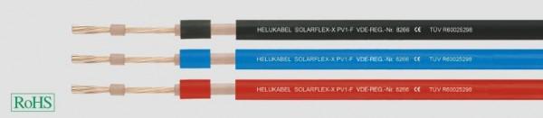 Kabel Solar 1x4mm² SOLARFLEX-X PV1-F ZWEINORM