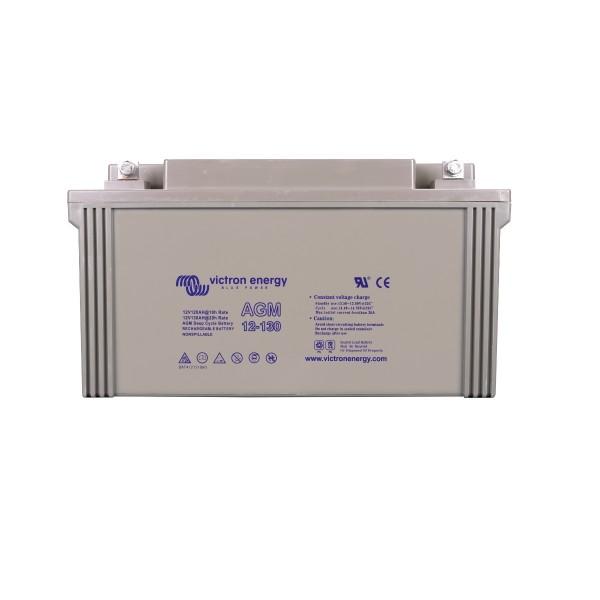 12 Volt 130 Ah AGM Deep Cycle Batterie