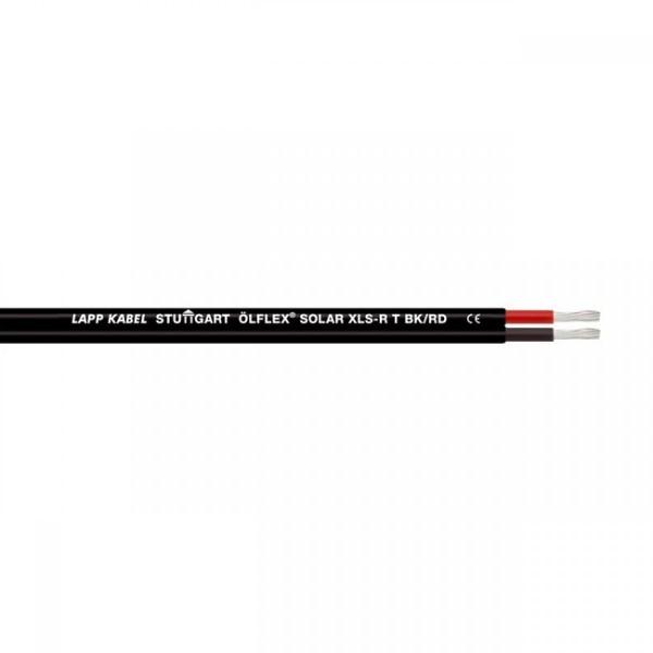 Kabel Solarkabel 2x6mm² TWIN ÖLFLEX SOLAR XLS-R T 2X6 BK/RD