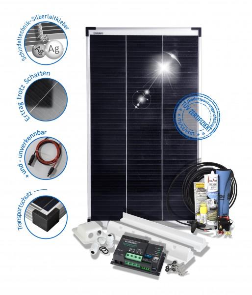 Solarset 100 Watt Camper für Wohnmobile