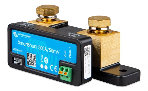 SmartShunt 500A/50mV der Victron Energy Batteriewächter Batteriecomputer