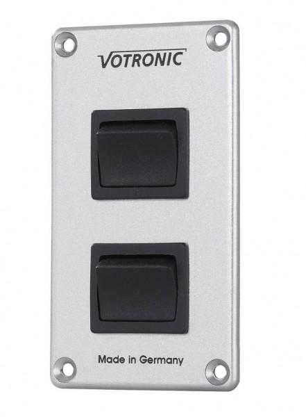 Votronic Schalter-Panel 2 x 16 A S