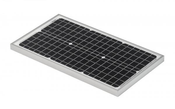 Solarmodul 30W Solarpanel 12V Monokristallin Wohnmobil Caravan 4 Busbars