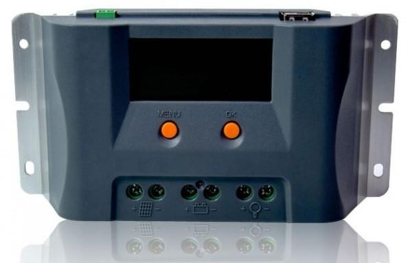 Solarladeregler 30A 12/24 Volt MAX30EU PWM Laderegler mit Display
