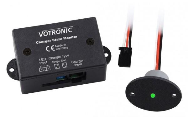 Votronic Fernanzeige Charger State Monitor IP67 für Batterieladegeräte