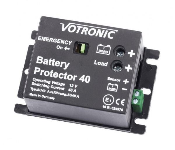 Votronic Battery Protector 40 Motor Unterspannungsschutz für die Bord- und Starter-Batterie