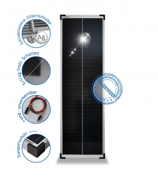 SOLARMODUL 80 W mono Solarpanel 12V Wohnmobil 80 Watt Schindel