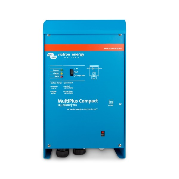 MultiPlus Compact 1600 VA Inverter Charger