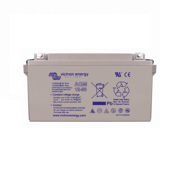 12 Volt 90 Ah AGM Deep Cycle Batterie