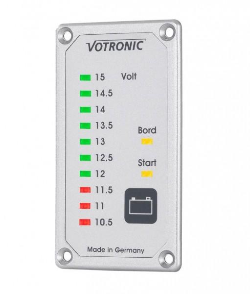 Votronic Duo-Akku-Tester S Messgerät für Bord- und Starter-Batterie