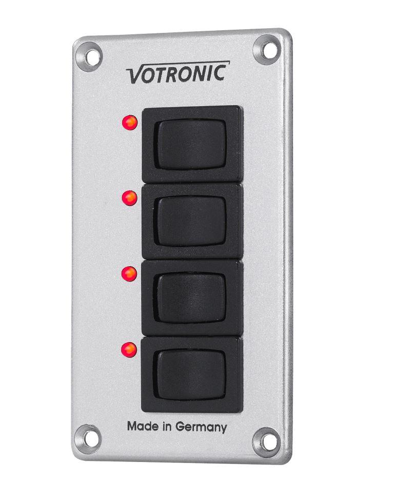 Sicherung Votronic Schalter-Panel 2 x 16 A S