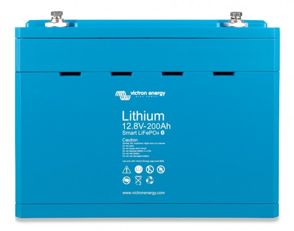 12,8V/200Ah Lithium Batterie Smart LiFePO4 Victron Energy