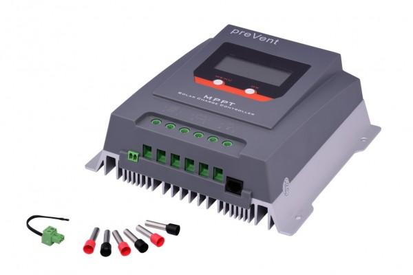 MPPT Solarladeregler preVent MPPT MT3075BT 30A 12V / 24V mit Bluetooth