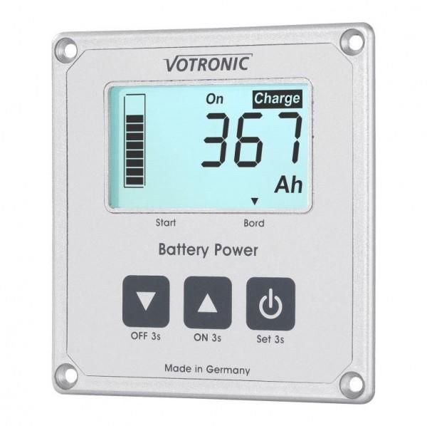 Votronic LCD-Batterie-Computer 100 S mit Smart Shunt und Masseband