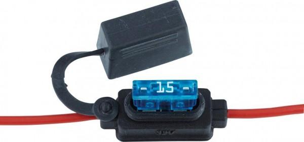 Votronic Kabel-Sicherungshalter IP 56 für Kfz-Flachstecksicherungen