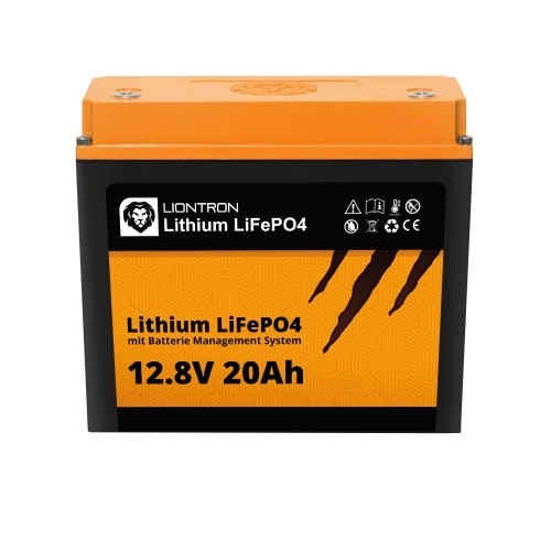 LIONTRON LiFePO4 12,8V 20Ah LX mit BMS