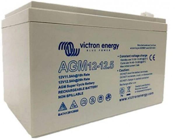 Victron Energy 12V/15Ah AGM Super Cycle Batt. (Faston-tab 6.3x0.8mm)