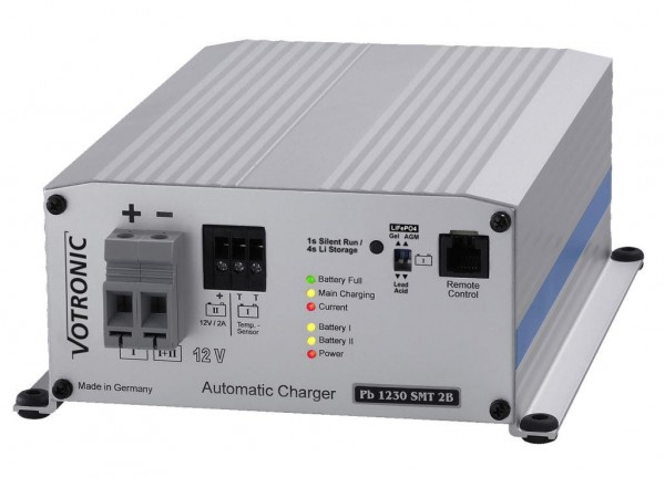 Votronic Pb 1230 SMT 2B 12V Ladegerät zum Fahrzeug Einbau