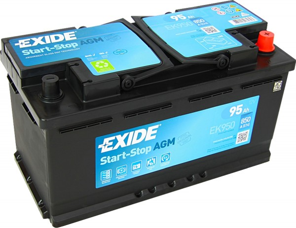 Exide Agm Ek950 95ah 12 Volt Start Stop Autobatterie Prevent Gmbh Simplify Your Energy