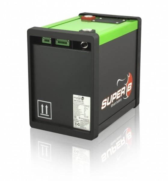 lithium ionen batterie super b 50 ah 12 v lifepo4. Black Bedroom Furniture Sets. Home Design Ideas